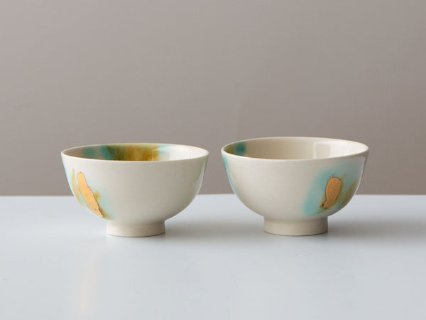 A Pair of Mid Century Cups
