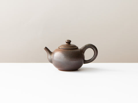 Rust Teapot, No. 1
