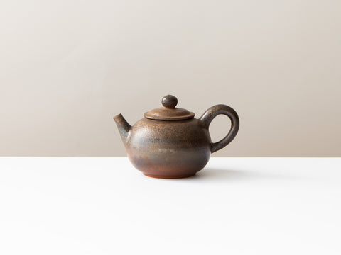Rust Teapot, No. 3