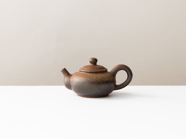 Rust Teapot, No. 4