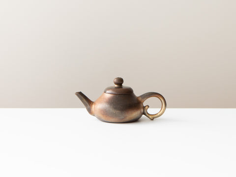 Bronze Teapot, No. 9