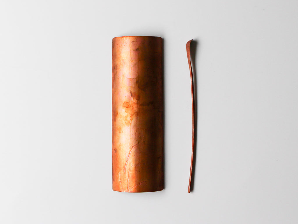 Copper Tea Utensils, Wildflower