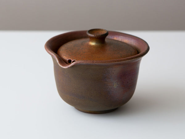 Wood-fired Shiboridashi, Variation 2 Front Angle View