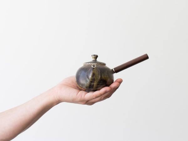 Fire Walnut Teapot, No. 1