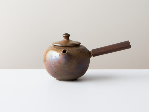 Fire Walnut Teapot, No. 2