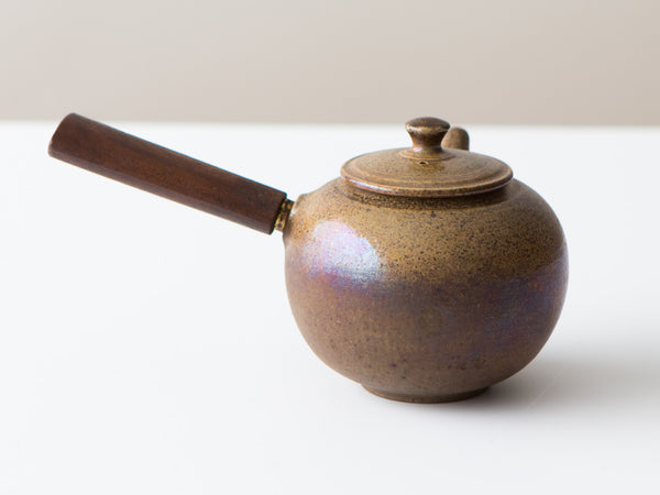 Fire Walnut Teapot, No. 3