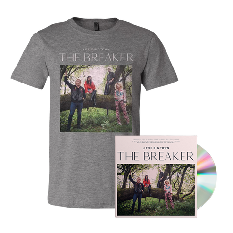 Little Big Town New Album The Breaker Official Tshirt and CD || Buy Now