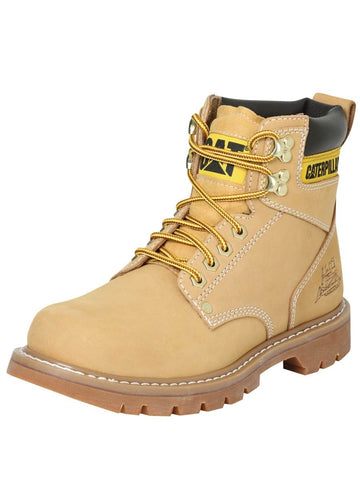 Botin Caterpillar Nobuck honey