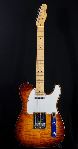 2012 Fender Select Telecaster TigerEye Finish