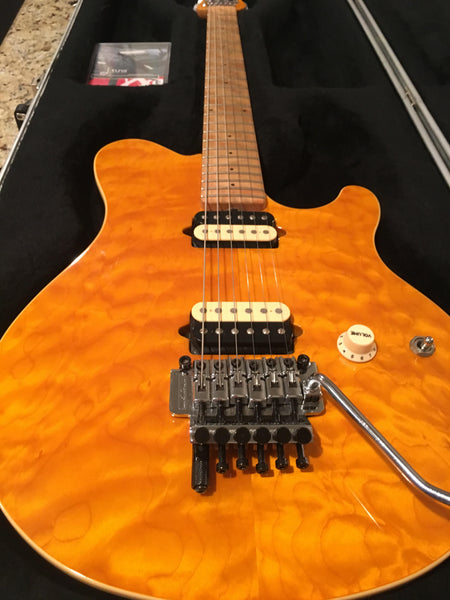 2000 Ernie Ball Music Man Axis w/Floyd Rose & Dtuna