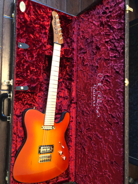 C.R. Alsip Tejas-T Fireburst Signed & Played By Phil Collen (Def Leppard) Electric Guitar