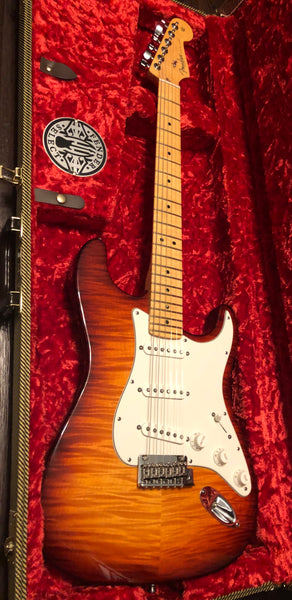 2012 Fender American Select Stratocaster Cherry Burst