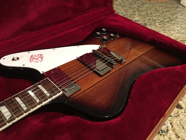 NEW 2017 Gibson Firebird T in Vintage Sunburst