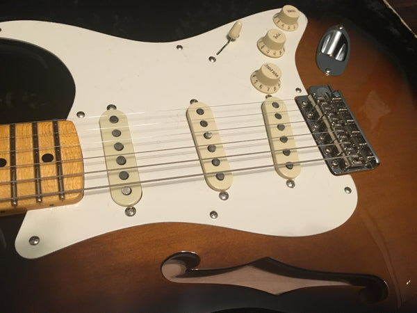 2018 Fender American Eric Johnson Thinline Signature Stratocaster