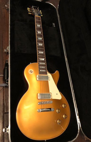 2015 Gibson Les Paul Deluxe Goldtop with upgrades