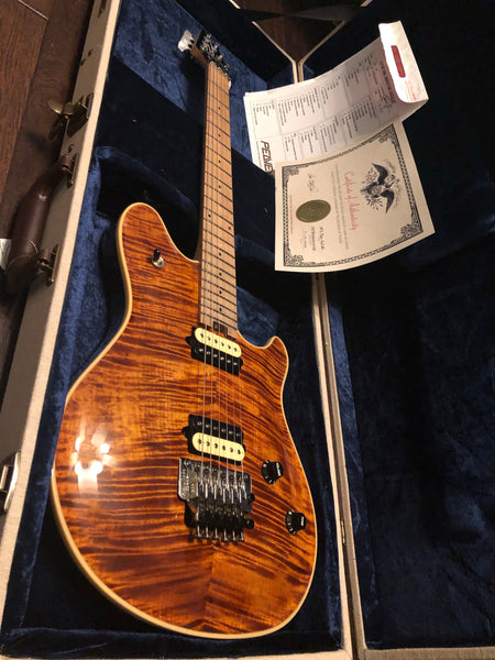 2018 Peavey USA HP2 Tiger Eye Flametop