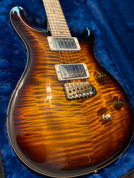 2017 Paul Reed Smith Custom 24 Artist Wood Library in Black Gold Burst