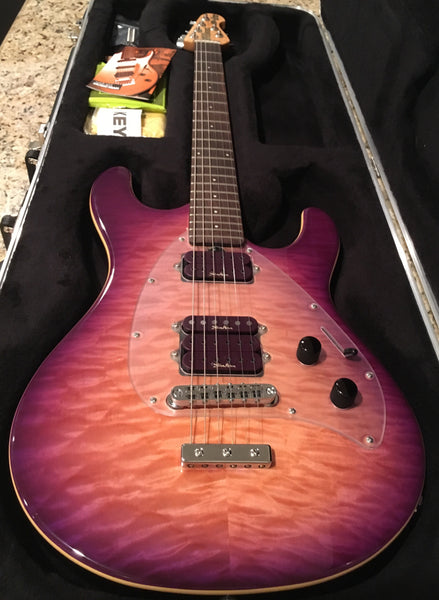 Ernie Ball Music Man Steve Morse SM-Y2D Electric Guitar
