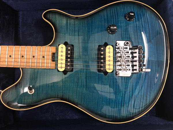 2018 Peavey Wolfgang HP2 USA Deep Ocean Burst Flametop
