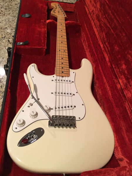 1997 Fender American Jimi Hendrix Stratocaster (Right-Handed) Olympic White