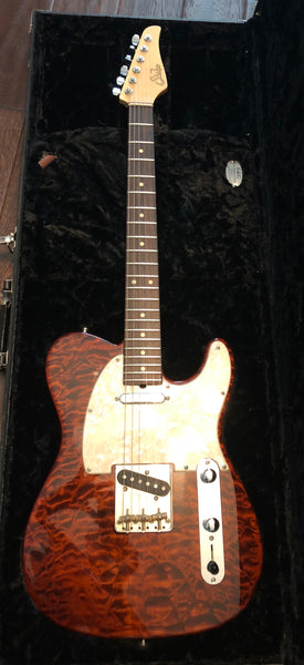 2012 Suhr Custom Classic T Telecaster Root Beer Finish