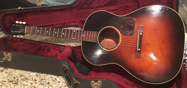 Vintage 1949 Gibson LG2 Acoustic Guitar
