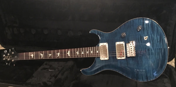 Brand New - 2017 Paul Reed Smith Special Run CE24 Flame Maple Top 57/08 Pickups Whale Blue