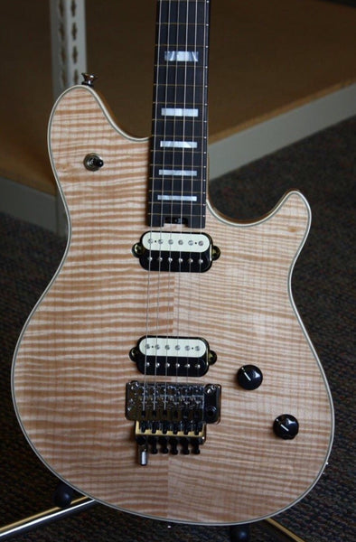 2016 EVH Wolfgang Natural AAAAA Flame Top USA
