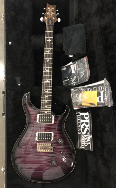 2016 Paul Reed Smith Custom 24 Ten Top Flame Violet Neck