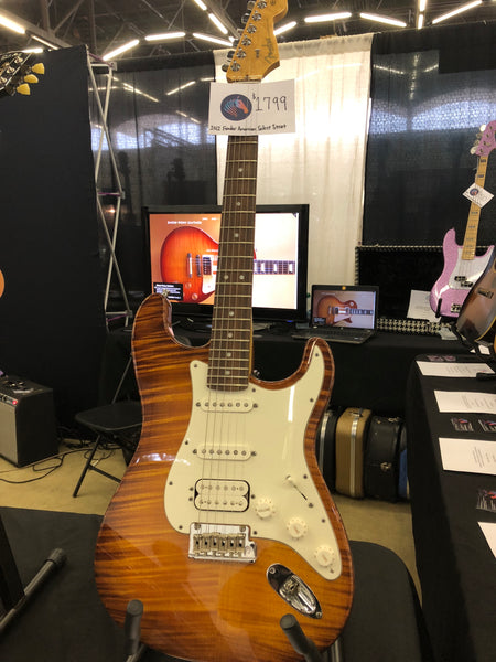 2012 Fender American Select Stratocaster