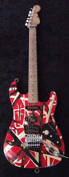 Eddie Van Halen Frankenstein Replica Electric Guitar (Only 300 Made)