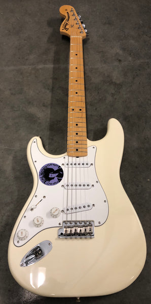 1997 Fender American Jimi Hendrix Tribute Stratocaster Olympic White (Right-Handed)