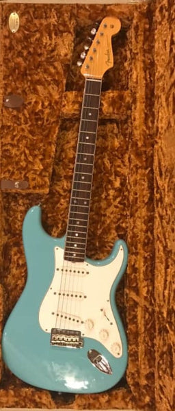2014 Fender Eric Johnson Stratocaster in Tropical Turquoise