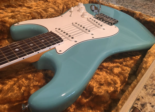 2011 Fender American Eric Johnson Stratocaster Tropical Turquoise
