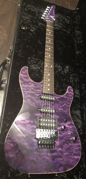 2001 Tom Anderson Drop Top Purple Quilt