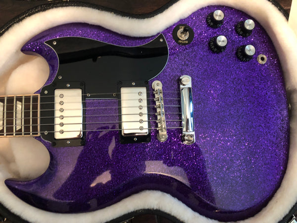 2016 Gibson SG Standard with Seymour Duncan Pearly Gates Humbuckers