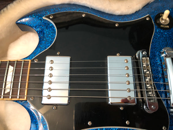 2009 Gibson SG Standard in Blue Sparkle