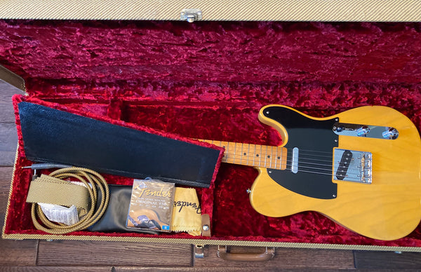 '97-'99 Fender American Telecaster Reissue Butterscotch Blonde Electric Guitar