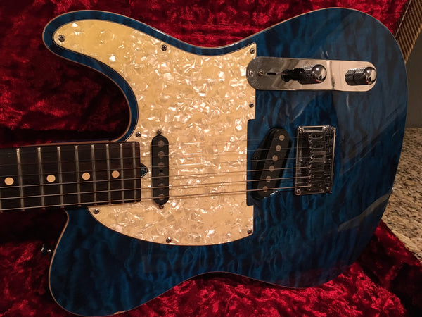 1998 Tom Anderson Hollow T Classic Translucent Blue