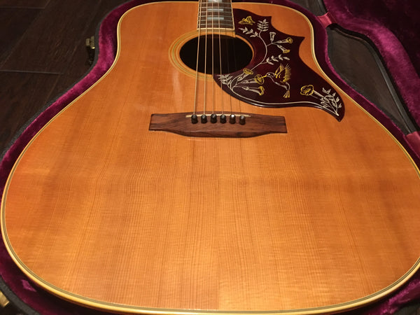 1973 Gibson Hummingbird Vintage Acoustic Guitar