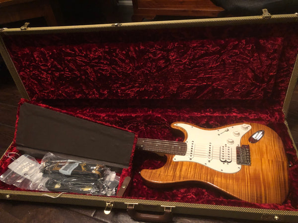 2012 Fender American Select Stratocaster Antique Burst HSS