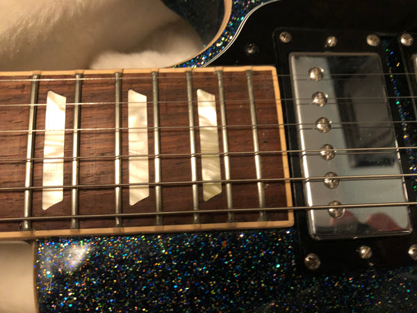 2010 Gibson Les Paul Traditional Multi-flake Sparkle 3 Humbuckers