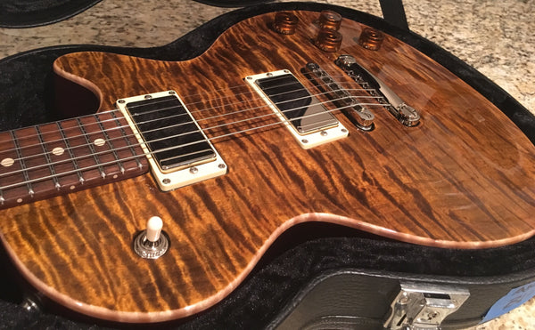 2014 Tom Anderson Bulldog Tiger Eye