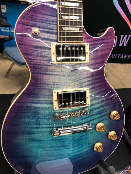 2018 Gibson Les Paul Traditional Limited Blueberry Burst Electric Guitar