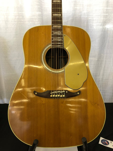 1968 Fender Wildwood V Acoustic Guitar