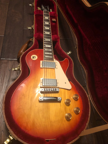 2016 Gibson Les Paul Traditional Heritage Cherry Sunburst