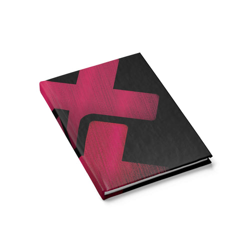 Triple Cross Hardcover Journal (lined paper)