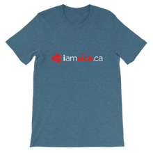 iamsick.ca t-shirt (dark colours)