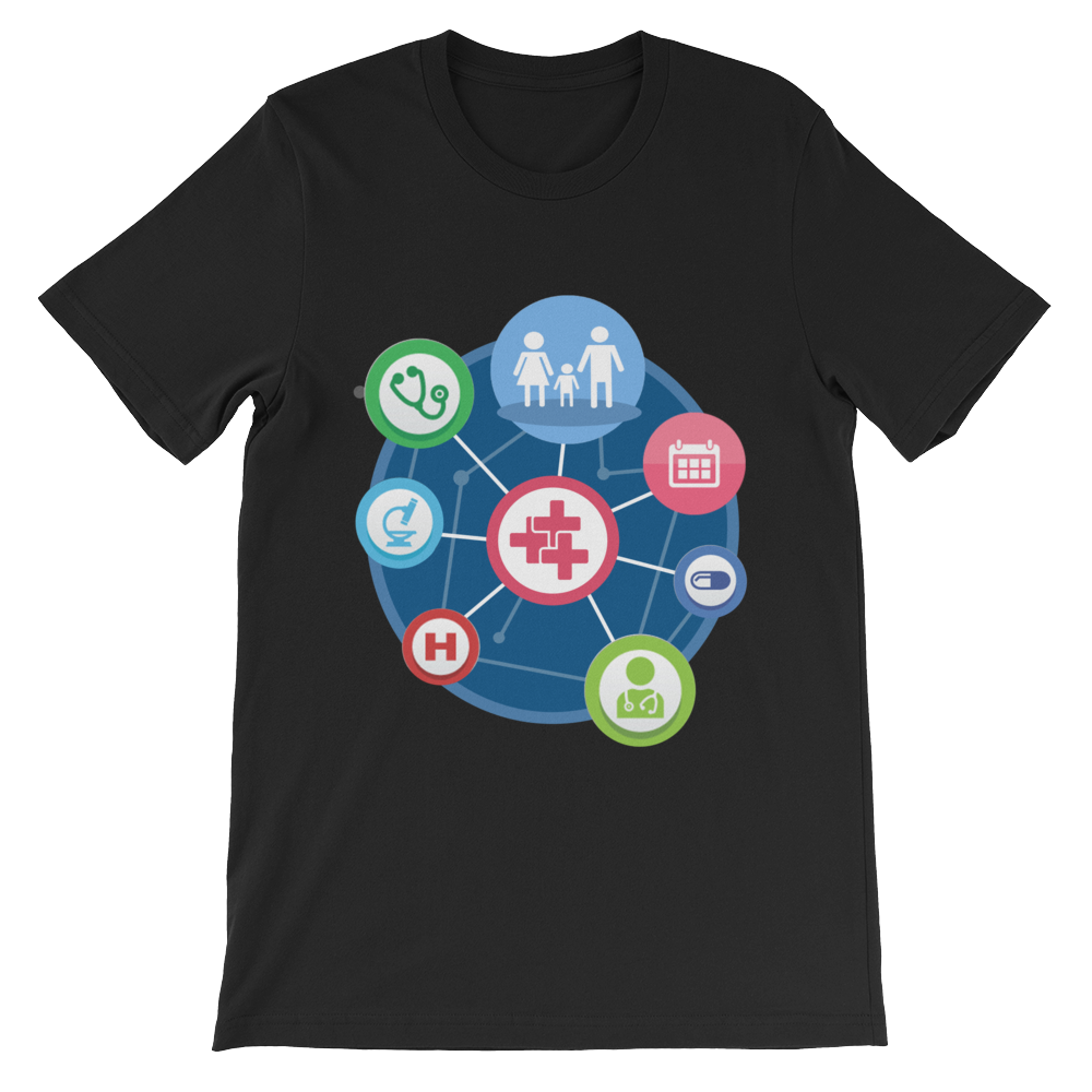 Connections t-shirt (dark colours)
