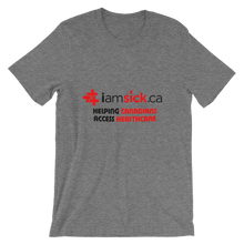 iamsick.ca t-shirt (light colours)